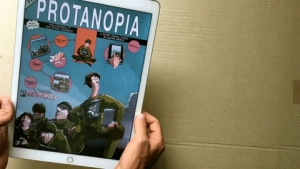 Protanopia - a digital interactive comic created by André Bergs